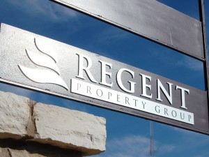 Regent Property Group Office Signage
